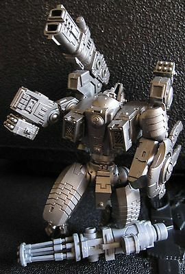 40K Tau Empire XV104 Riptide Heavy Battlesuit undercoated.