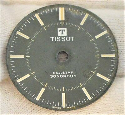 Tissot Seastar Sonorous VTG Alarm watch green dial Ø28.5mm