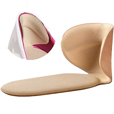 JAPAN SOLUTIONS Heel Pads Cushion Grips, Shoes Boots High Heels Gel Inserts Inso