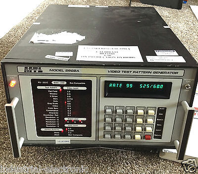 Mtl 2602A Video Test Pattern Generator  120-220V Or 240V Ac Model Vii2602A