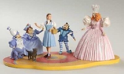 """Dept 56 The Wizard Of Oz """"follow The Yellow Brick Road - 2004 - Nrfb - New"""