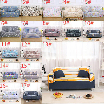 1 2 3 4Seater L Shape Elastic Sofa Cover Plush Stretch Protector Couch Slipcover