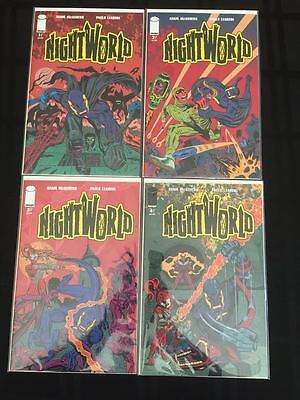 Nightworld #1-4 1 2 3 4 Complete Run Set Image Comics 1St Print Lot Nm