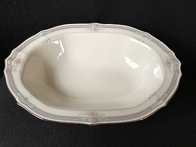 "Noritake Rothschild. OVAL SERVING BOWL (10 1/4"").  Mint Cond!  Never Used!"