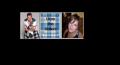 """Bay City Rollers """"we Love The Rollers  Your Picture Limited Edition Badge"""
