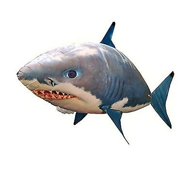 Air Swimmers Remote Control Flying Shark Toy Kids Helium Balloon Fish New Gift