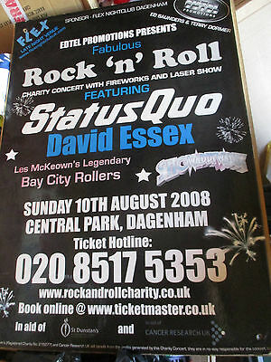 Ltd Edition Bay City Rollers Status Quo David Essex Showaddywaddy Large Poster