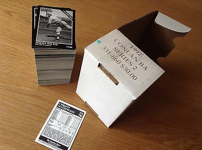 Complete Series 2 1992 Conlin MLB Baseball Trading Cards (331 - 660)