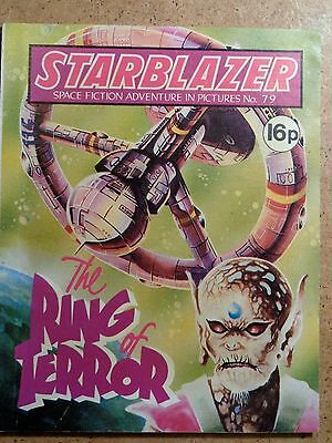 Starblazer Comic No.79 The Ring Of Terror 1982 Sci-Fi Fantasy Picture Library