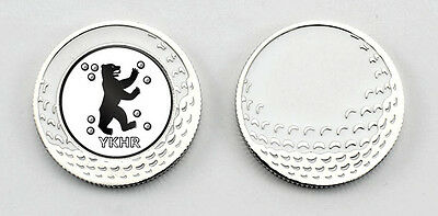 Golf Ballmarker Poker Chip Ballmarker - Metall YKHR