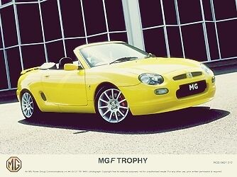Mg Rover Press Photo Mgf Trophy