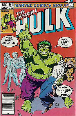 INCREDIBLE HULK #264  Oct 1981
