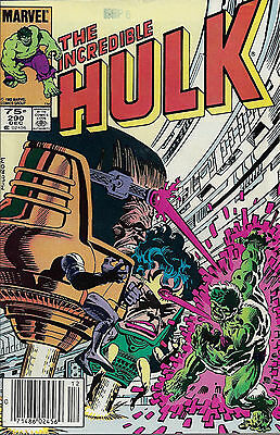 INCREDIBLE HULK #290  Dec 1983