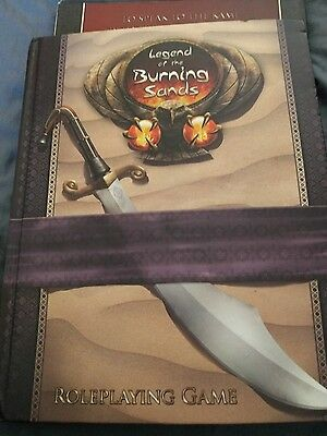 L5R Legend of the Burning Sands Used good conditio Rare Legend Of The Five Rings