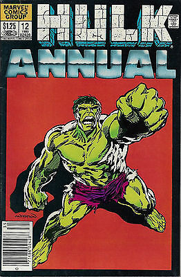 INCREDIBLE HULK Annual #12  1983