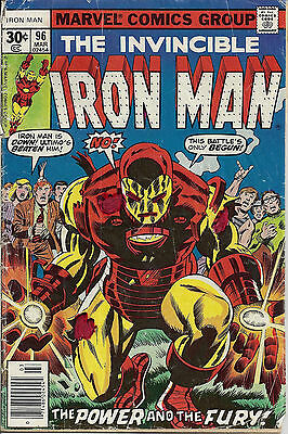 IRON MAN #96  Mar 77 1st A:New Guardian