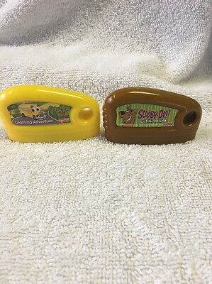 2 Fisher Price Smart Cycle Game Cartridges Scooby Doo  Learning Adventure