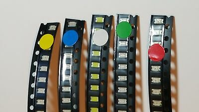 Surface Mounted LED's - 10 Pack - Choose from available colours - UK Free P&P