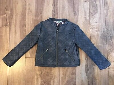 Toddler Girl leather jacket size 4T *NEW*