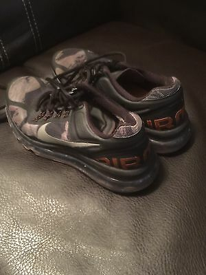 Camo Air 002 2013 Running Blackorange Kids Shoes Nike 555426 Max N80Oywnvm