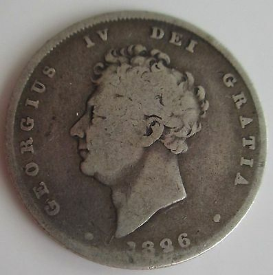 1826 Great Britain Shilling Silver Foreign