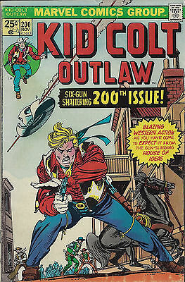 KID COLT OUTLAW #200  Nov 1975  R:KCO #135