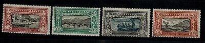 ITALY-- 1923 MINT/GUM/HINGE MARK -- Sc. #'s 165-168. VERY NICE. ADD TODAY.