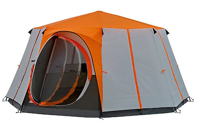 Large 360 Degrees Coleman Cortes Octagon 8 Person Inflatable Tent Summer House