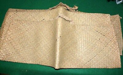 3 quality wicker salmon fish bass carriers Scottish and the best lot 2