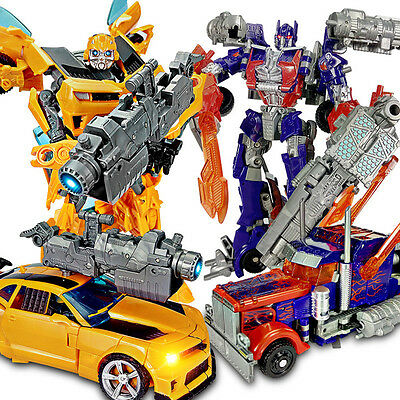 Car Action Figures Transformers  Grimlock Bumblebee Optimus Prime Toy Gifts UK