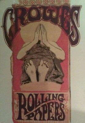 RARE! *PROMO-ONLY VERSION* THE BLACK CROWES (1992) Rolling Papers