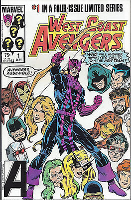 WEST COAST AVENGERS  #1  Sep 84  Limited Series