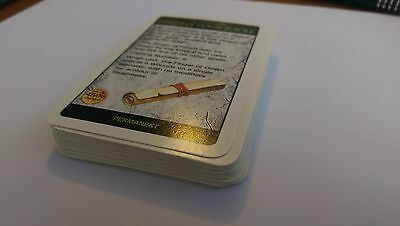 Warhammer Quest - Treasure Cards spares only