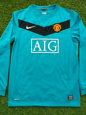 Peter Schmeichel Hand Signed Manchester United Football Shirt - COA - Autograph