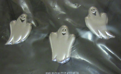 Hallmark GHOST NECKLACE Halloween Ghosts NEW IN PACKAGE