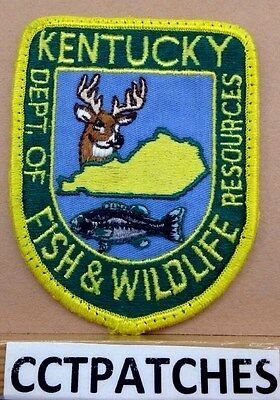 Kentucky Dept Of Fish & Wildlife Resources (Police) Shoulder Patch Ky