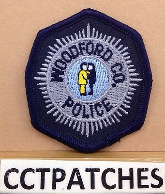 Woodford County, Kentucky Police (Small) Shoulder Patch Ky