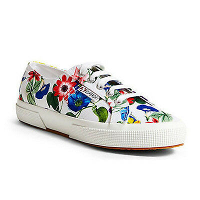 28952f1dbf6 Superga Women s 2790 Cotw Multicolor Outsole Sneaker White multi 8 M Us.