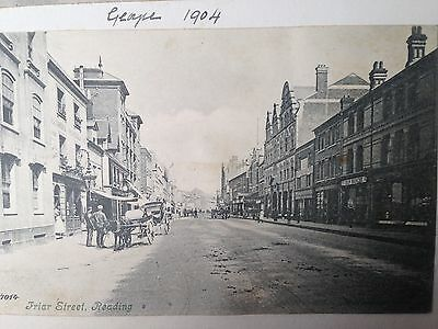 FRIAR STREET, READING Berkshire Postcard 1904