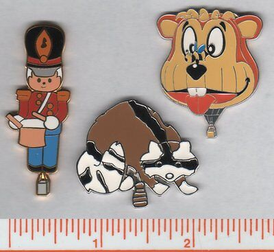 Balloon pins raccoon toy soldier bear / special shape / FREE SHIPPING