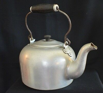 Antique Vintage Large WEAREVER TEA KETTLE Teapot - Pittsburgh, PA