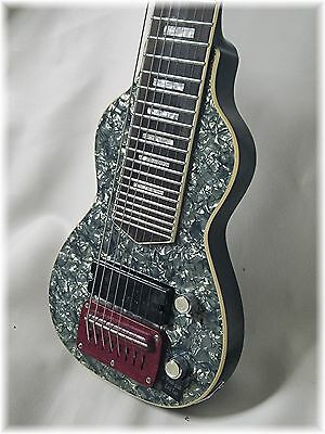 Dillion  Black Pearl 8 string lap steel. There is only one left till 2018.