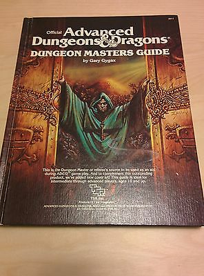 1st edition Dungeon Master's Guide, AD&D, excellent