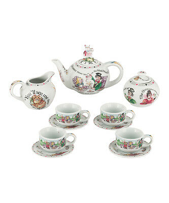 Cardew Design Alice in Wonderland Miniature Collector Tea Set   New in Box
