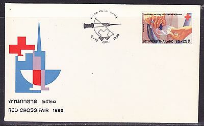 Thailand 1980 Red Cross Fair #1 First Day Cover - Unaddressed