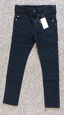 Girls Black Skinny Jeans, 7-8 Years, Brand New With Tags