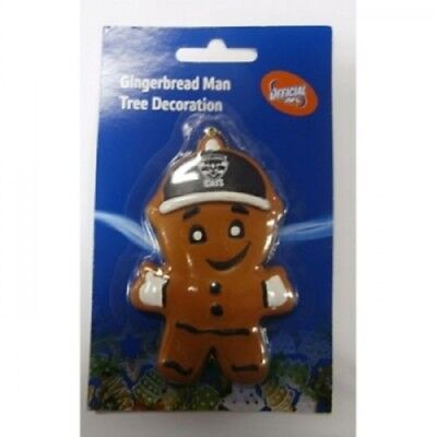 Geelong Cats Official AFL Gingerbread Man Christmas Tree Decorations