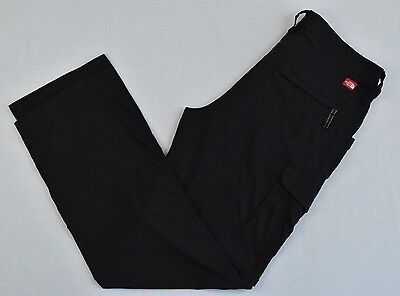 THE NORTH FACE Womens Pants Long / Short Hiking Black Size 12