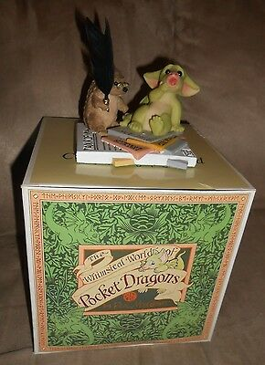"Whimsical World Of Pocket Dragons - ""I Owe How Much???"" - Excellent Condition"