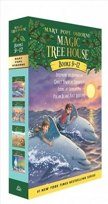 Magic Tree House Collection 3 Books 9-12 : Dolphins at Daybreak/Ghost Town at...